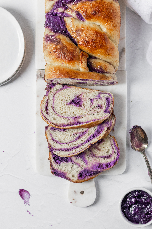 Ube Roll Cake